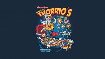 Thor funny the avengers cereal Wallpaper