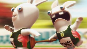 Tv party rayman raving rabbids wallpaper