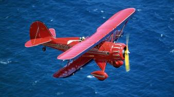 Waco Biplane wallpaper