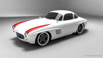2009 Mercedes Benz Sl Gullwing Panamericana 3 Hd wallpaper
