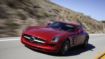2011 Mercedes Benz Sls Amg 22 wallpaper