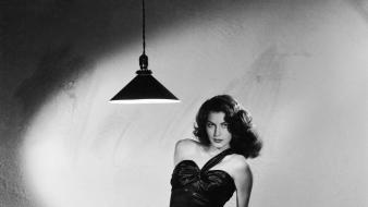 Actress monochrome ava gardner wallpaper
