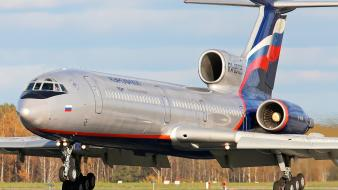 Aircraft aeroflot tu-154m wallpaper