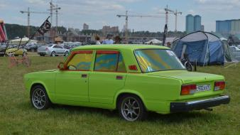 Cars lada 2107 russian Wallpaper