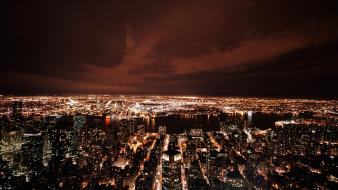 Cityscapes lights buildings cities wallpaper