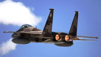 F 15 Eagle From Nellis Air Force Base wallpaper