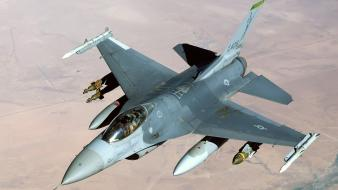 F 16 Fighting Falcon Air Base Iraq wallpaper