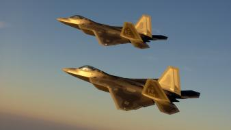 Golden Jet Fighter Planes wallpaper