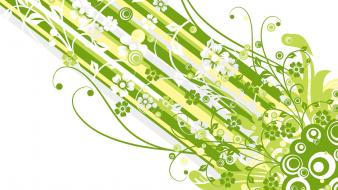 Green Vector Design wallpaper