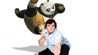 Jack Black As Panda Wallpaper