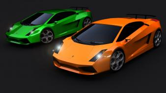 Lamborghini Gallardo 2007 Hd wallpaper
