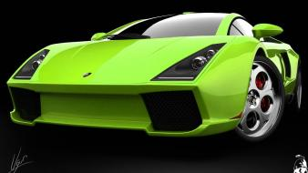 Lamborghini Green Concept Wallpaper