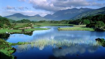 Mountains landscapes nature marsh wallpaper