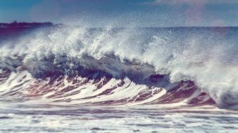 Ocean landscapes nature beach waves andy sea wallpaper