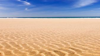 Ocean sand seascapes wallpaper