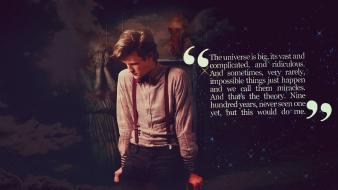 Quotes matt smith eleventh doctor who weeping angel wallpaper