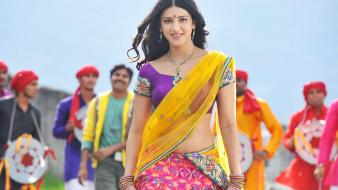 Shruti Hassan In Gabbar Singh wallpaper