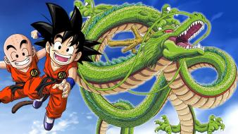 Son goku anime boys monkeys sangoku krillin dragonball wallpaper