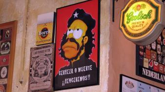 The simpsons che guevara wallpaper
