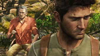 Video games uncharted nathan drake 3 victor sullivan Wallpaper