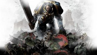 Video games warhammer space marine Wallpaper