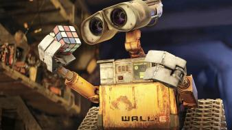 Wall E Rubiks Cube wallpaper