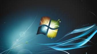 Windows 7 logo design Wallpaper