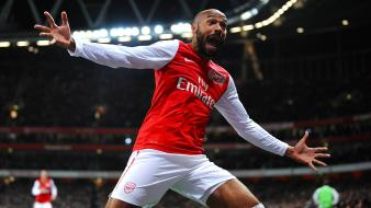 Arsenal fc thierry henry soccer wallpaper