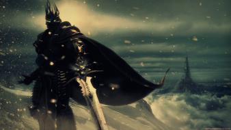 Arthas lich king warth of the world warcraft wallpaper
