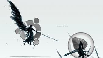 Bodhi linux final fantasy simple background wallpaper