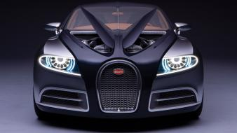 Bugatti galibier concept black cars wallpaper