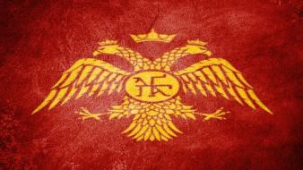 Byzantin empire flag greek orthodox wallpaper