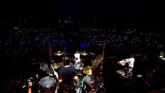 Festival linkin park concert drums music wallpaper
