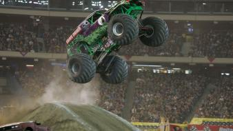 Grave digger cars monster jam truck sports wallpaper