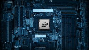 Intel pcb circuits motherboards wallpaper