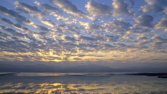 Israel dead sea sunrise wallpaper