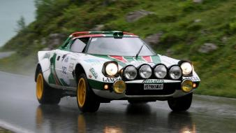 Italian lancia stratos cars racing wallpaper