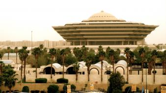 Ministry of interior riyadh saudi arabia architecture wallpaper