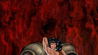 Vampirella cover wallpaper