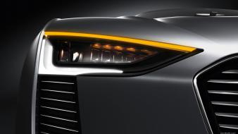 Audi etron cars concept art headlights wallpaper
