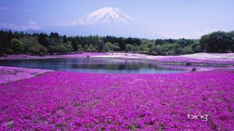 Bing landscapes volcanoes wallpaper