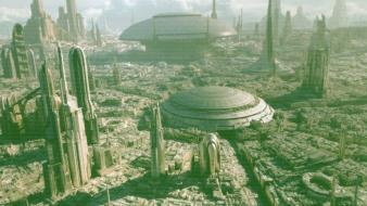 Coruscant star wars cityscapes wallpaper