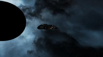 Eve online outer space science fiction wallpaper
