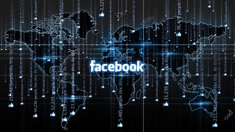Facebook maps world map Wallpaper