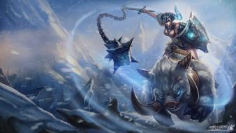League of legends sejuani characters wallpaper