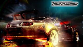 Need for speed underground toyota supra cars games wallpaper