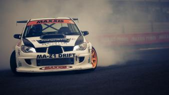 Subaru impreza cars drifting wallpaper