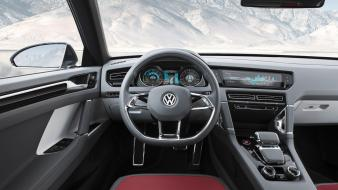 Volkswagen cross coupe concept art dashboards wallpaper