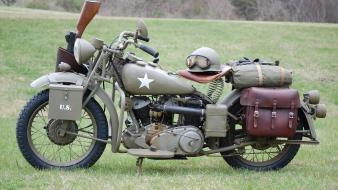 World war ii motorcycles oldschool Wallpaper