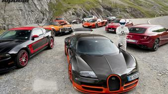 1 series m coupe bugatti veyron ferrari wallpaper